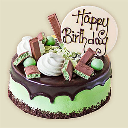 Choco Mint Cake Send Birthday Gifts To Australia