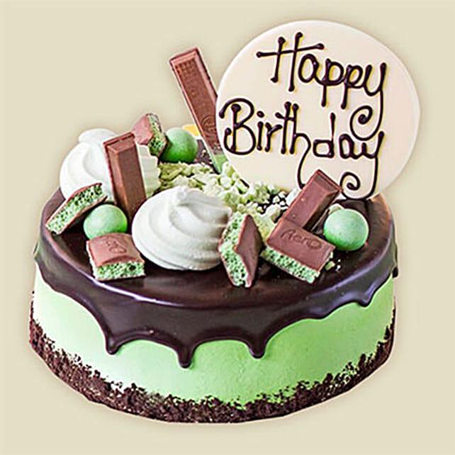 Choco Mint Cake Send Birthday Gifts To Australia