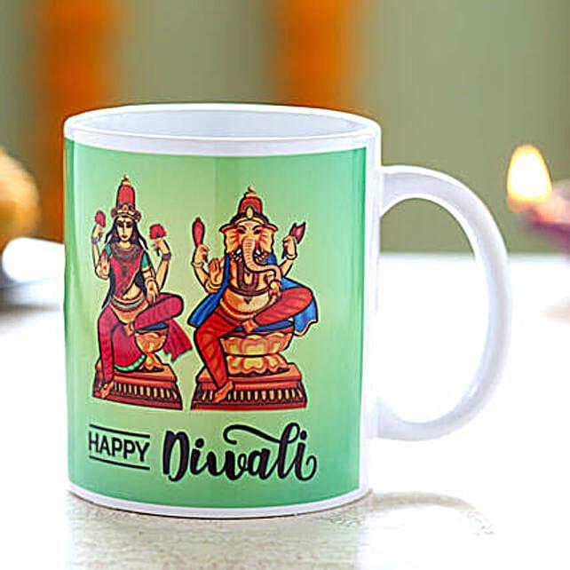Laxmi Ganesha Printed Diwali Mug: Diwali Gifts Delivery in Australia