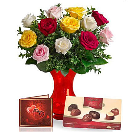 Premium Chocolates With Flowers: Birthday Flower Delivery in Australia