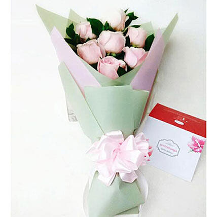 Simple Seven Bouquet: Send Flowers to Indonesia