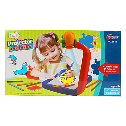 3 In 1 Projector Painting Set: Toys and Games