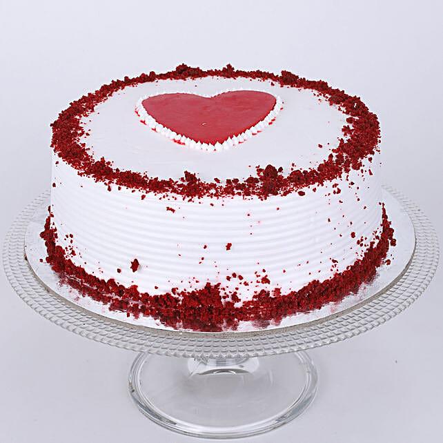 Adorable Red Velvet Cake: Red Velvet Cakes Ahmedabad