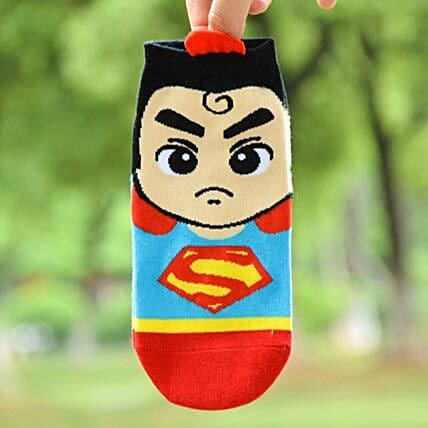 Angry Superman Ankle Length Socks: Apparel Gifts