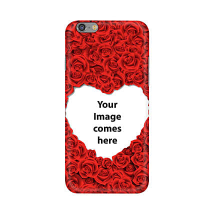 Apple iPhone 6 & 6S Customised Hearty Mobile Case: Personalised Back Covers