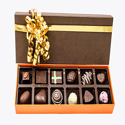 Assorted Chocolates 12: Homemade Chocolate Gifts