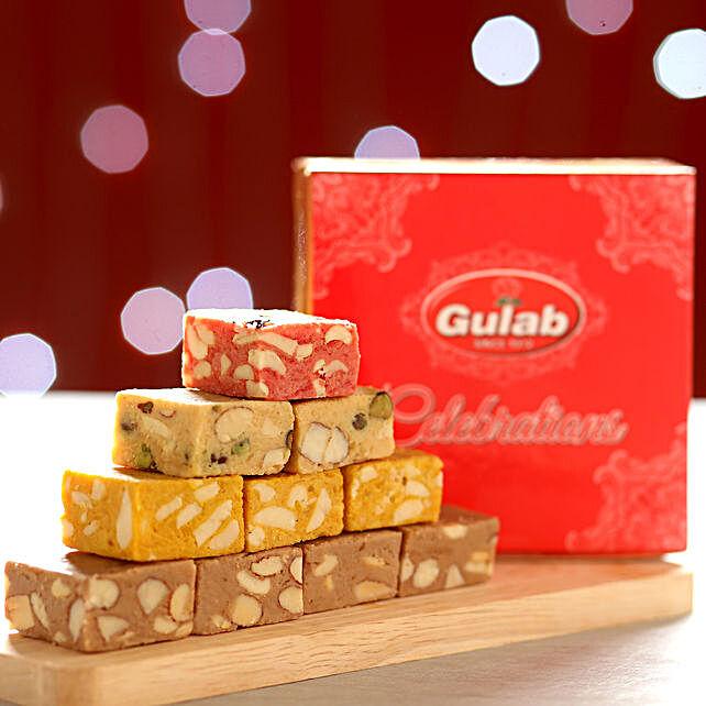 Assorted Mewa Bites Box: Karwa Chauth Sweets India