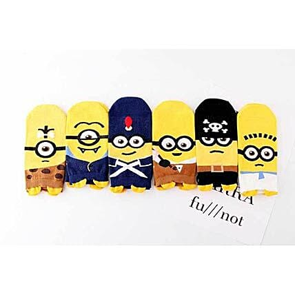 Baby Minions Despicable Me Ankle Socks 5 Pairs: Unusual Gifts