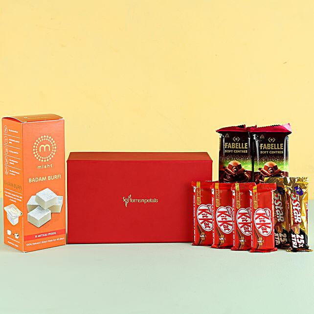 Badam Burfi Festive Gift Hamper: Gift Combos