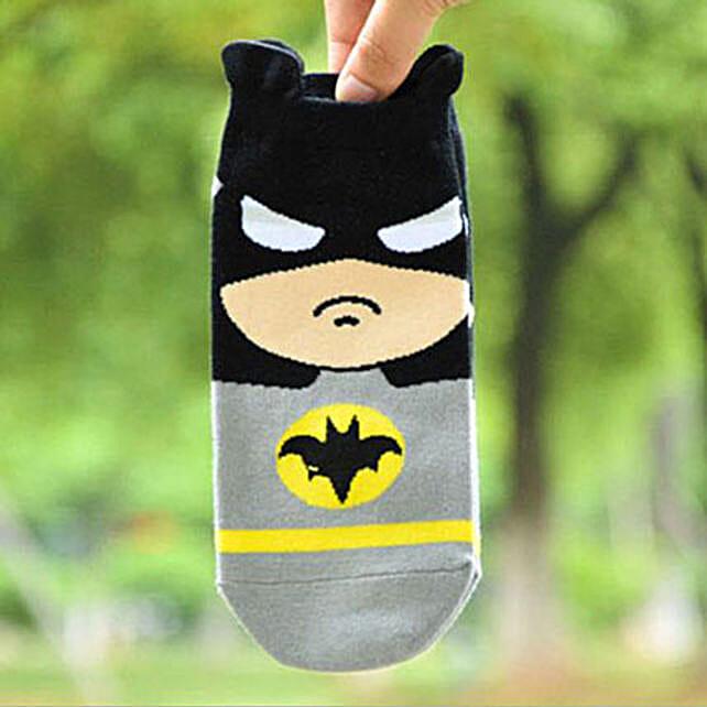 Batman Ankle Length Socks: Funny Gifts