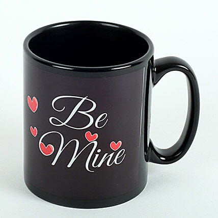 Be Mine Printed Ceramic Mug: Coffee Mugs