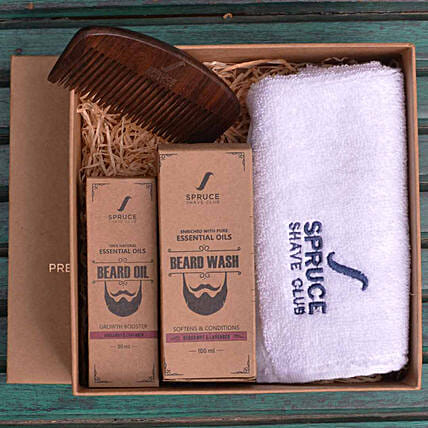 Beard Care Bundle- Bergamot & Lavender: Gift Hampers