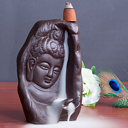 Lord Buddha Incense Burner: 1St Anniversary Gifts