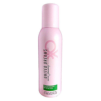 Benetton United Dreams Love Yourself Deodorant For Women: Gift Ideas