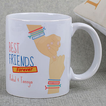 Best Friends Ceramic Mug: Friendship Day Personalised Gifts