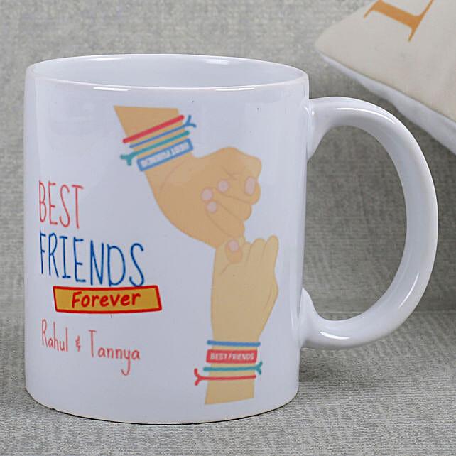 Best Friends Ceramic Mug: Girlfriends Day Gifts