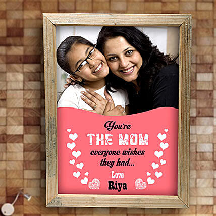 Best Mom Personalized Frame: Send Personalised Photo Frames to Hyderabad