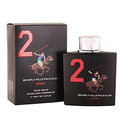 Beverly Hills EDT Black For Men: Mens Perfume