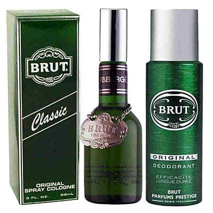 Brut Original Perfume & Deo Spray Combo: Send Perfumes