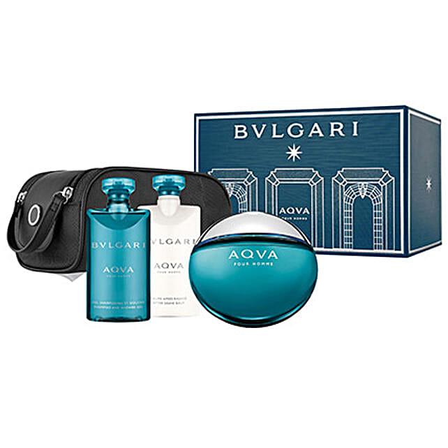 BVLGARI Aqua Gift Set For Men: Boss Day Gift Hampers