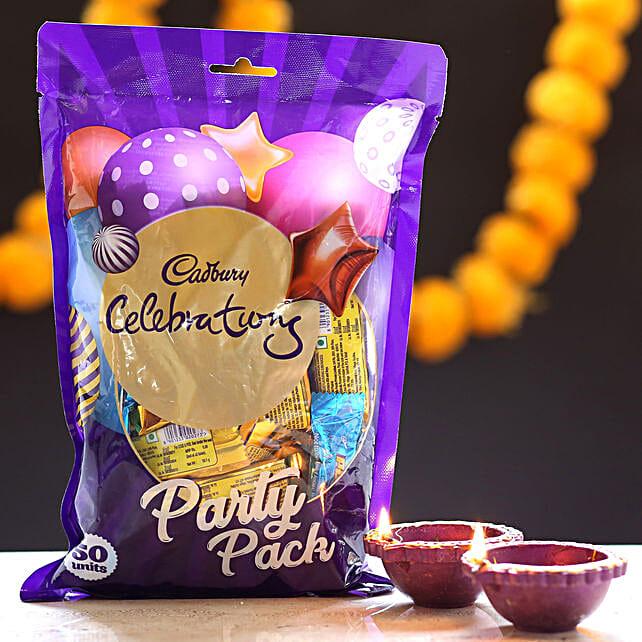 Cadbury Celebrations & Diyas: Send Diwali Gifts for Friend