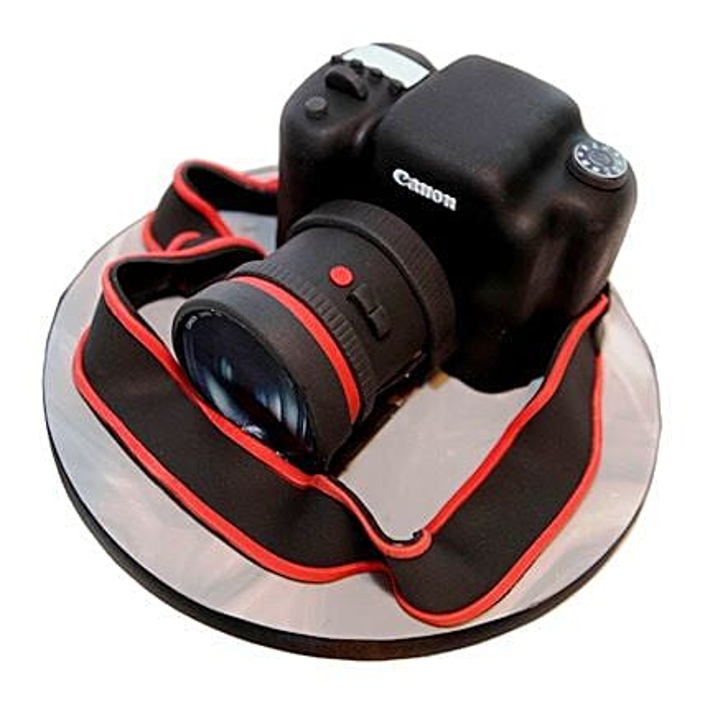 Camera Cake: Truffle Cakes