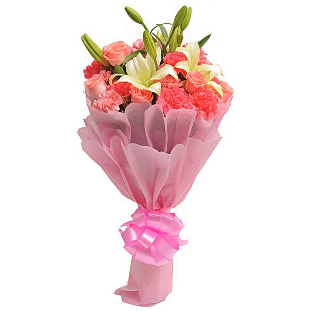Carnations N Lilies: Send Carnations