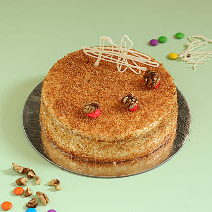 Carrot Walnut Cake: