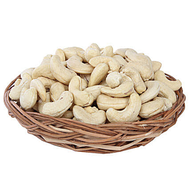 Cashews Basket: Gift Baskets to Jaipur