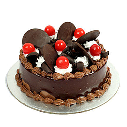 Choco Cherry Cake: Hug Day Gifts