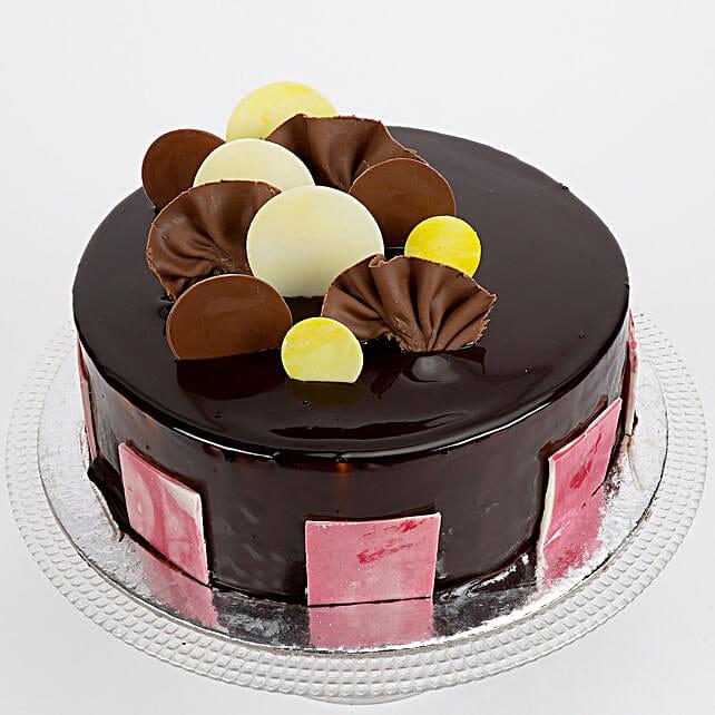 Choco Coin Truffle Cake: Christmas Gifts