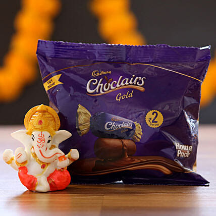 Chocolairs Gold & Ganesha Idol: Chocolate Combos