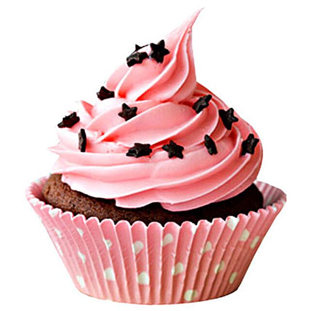 Chocolate Star Cupcakes: Cupcakes