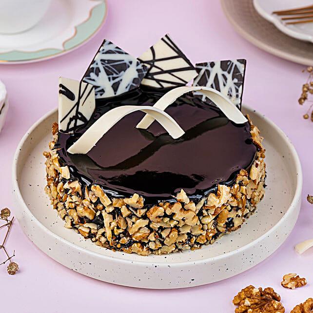 Chocolate Walnut Truffle: Birthday Chocolate Cakes