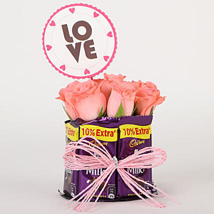 Chocolatey Love Arrangement: