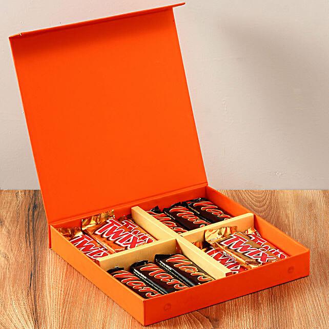 Chocolaty Orange Gift Box: Hug Day Gifts