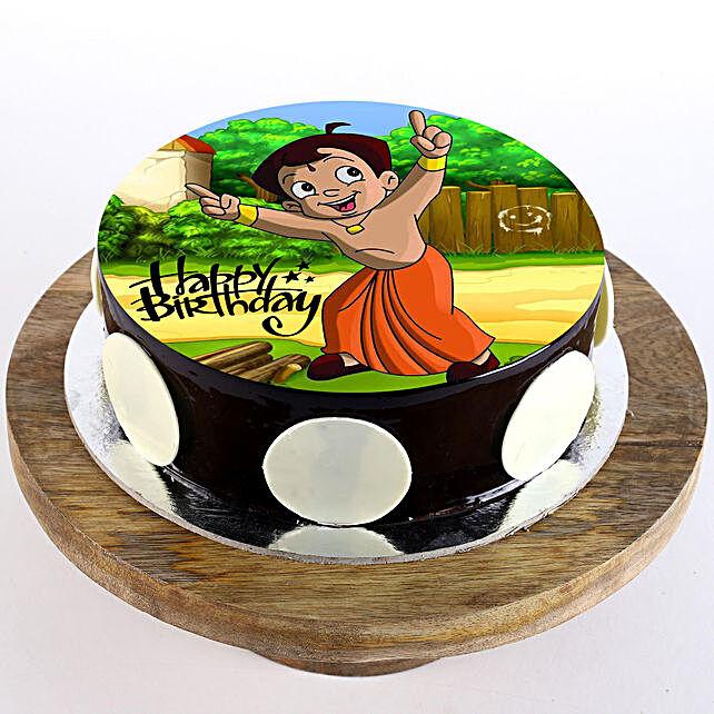 Chota Bheem Birthday Cake: Chota Bheem-cakes