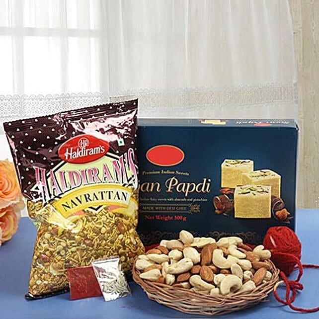 Conventional Bhaidooj Gift: Send Bhai Dooj Gift Hampers