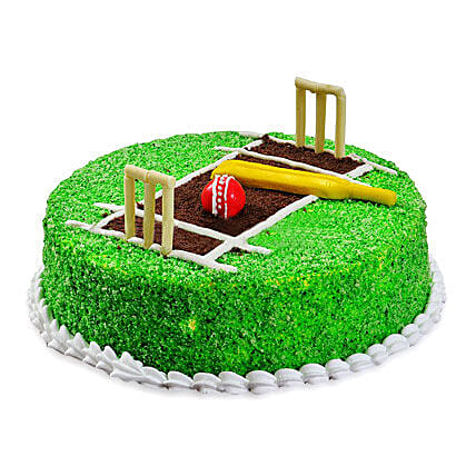 Cricket Pitch Cake Designer Cakes