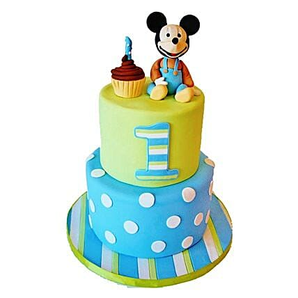 Cute Cartoon Cake: Mickey Mouse Cakes