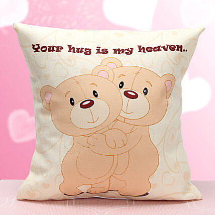 Cute Hug Me Cushion: Hug Day Gifts