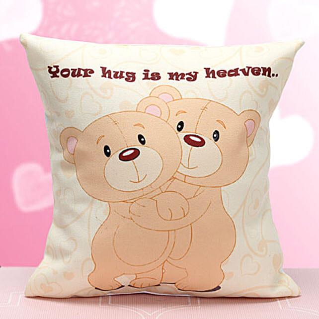 Cute Hug Me Cushion: Hug Day Gifts