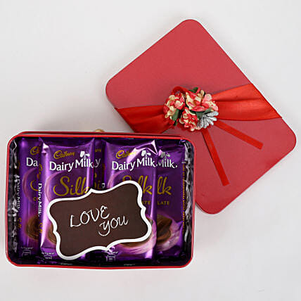 Dairy Milk Silk in Red Box: