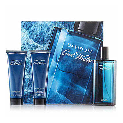 Davidoff Cool Water Gift Set For Men: Send Gift Hampers