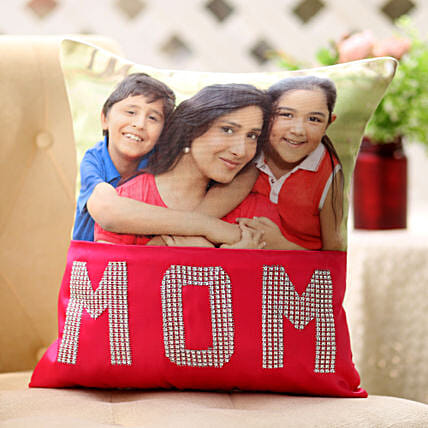 Dazzling Mom Cushion: Gifts to Bongaigaon