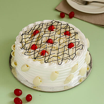 Decadent White Forest Cake: White Forest Cakes
