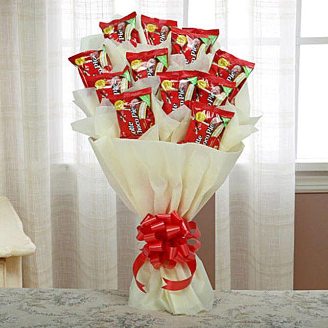 Delicious Choco Pie Bouquet: Christmas Chocolates
