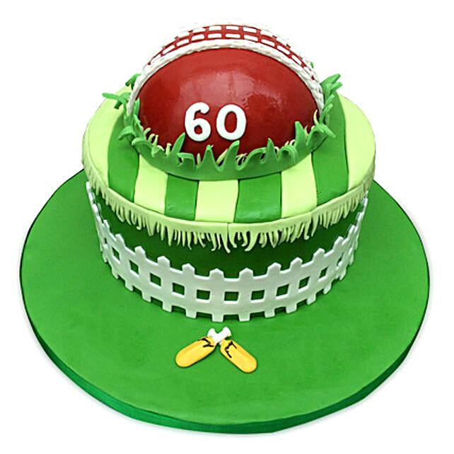 Designer Cricket Fever Cake: Designer Cakes