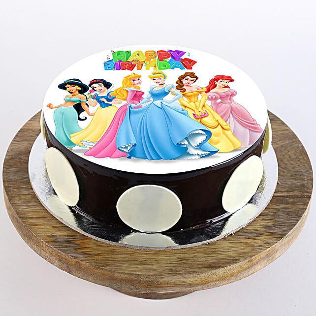 Disney Princess Cake: