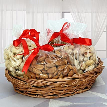Dry Fruits Reloaded: Send Karwa Chauth Gift Baskets